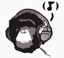 Chimp Tunes by 45thAveArtCo
