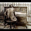 Street Pianist by Lisa Stead
