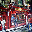 Temple Bar at Night by Lisa Stead