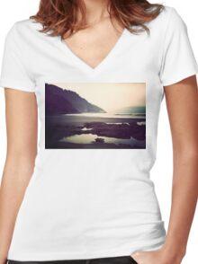 Reminisce Women's Fitted V-Neck T-Shirt