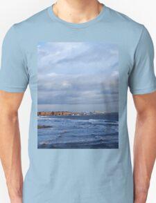 Northumbrian seascape Unisex T-Shirt