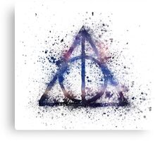 Space Hallows Canvas Print