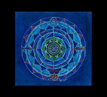 Wassermann Horoskop Mandala Produkte by Renate van Nijen