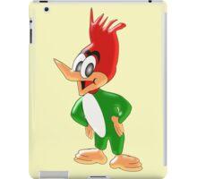 Green Woodpecker Design iPad Case/Skin
