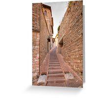Italian steps Greeting Card