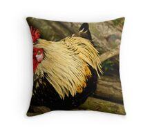 Chillin Chicken! Throw Pillow