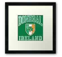 Donegal, Ireland with Shamrock Framed Print