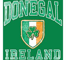 Donegal, Ireland with Shamrock Photographic Print