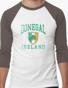 Donegal, Ireland with Shamrock Men's Baseball ¾ T-Shirt