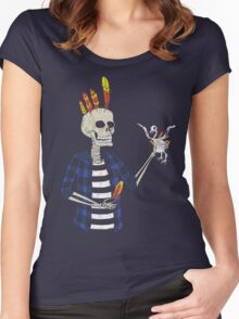 The Hair Master Women's Fitted Scoop T-Shirt