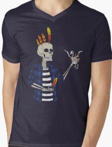 The Hair Master Mens V-Neck T-Shirt