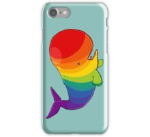 Homosexuwhale - no text iPhone Case/Skin