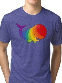 Homosexuwhale - no text Tri-blend T-Shirt
