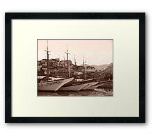 The Harbour Framed Print