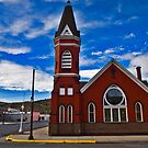 First M.E. Church, Anaconda Montana by Bryan D. Spellman