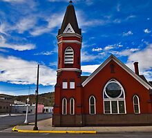 First M.E. Church, Anaconda Montana by Bryan D. Spellman
