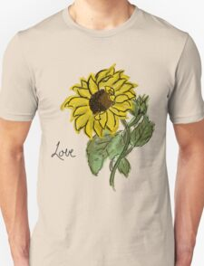 Messy Sunflower T-Shirt