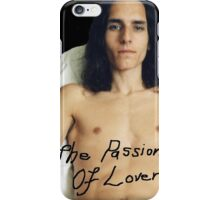 """Black Etched """"The Passion Of Lovers"""" Shirtless Male iPhone Case/Skin"""