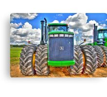 Big Boys Toys Canvas Print