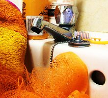 photography- bathroom zest still life by Gema Sharpe