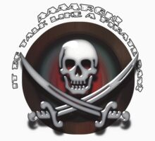 Skull and Cross Swords - Jolly Roger  Kids Clothes