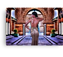 Haute Couture High Fashion Canvas Print