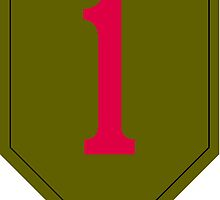 1st Infantry Division (United States) by wordwidesymbols