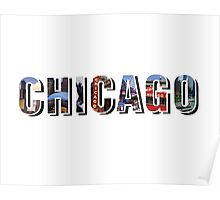 Chicago Places Poster