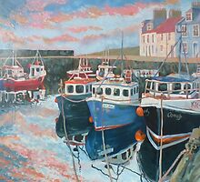 Pittenweem Harbour  by Tracey Pacitti