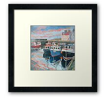 Pittenweem Harbour  Framed Print