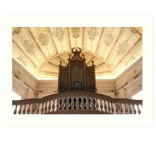 Pipe organ Art Print