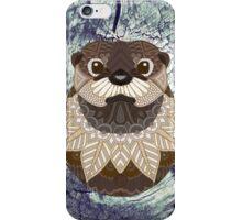 Ornate Otter iPhone Case/Skin