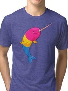 Pansexuwhale - no text Tri-blend T-Shirt