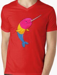 Pansexuwhale - no text Mens V-Neck T-Shirt