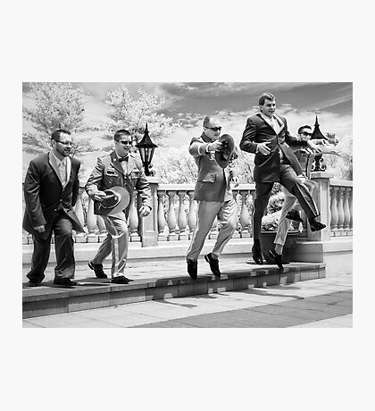 Jumping for Joy! Photographic Print