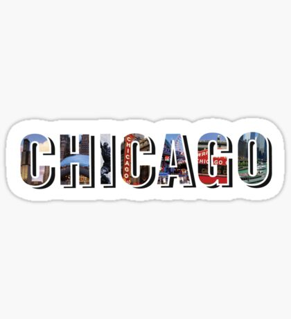 Chicago Places Sticker