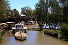 Port of Echuca, Victoria by Christine Smith
