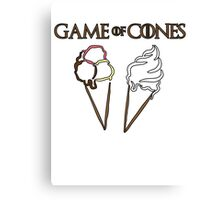 Game of Cones Canvas Print
