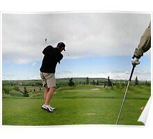 Golf Swing B Poster