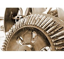 Big Wheels Keep on Turning Photographic Print