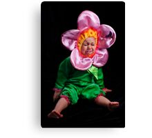 I DON'T WANNA BE A STUPID FLOWER! Canvas Print