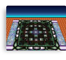 Sahar#10:  Futuristic Game Board (G0986) Canvas Print