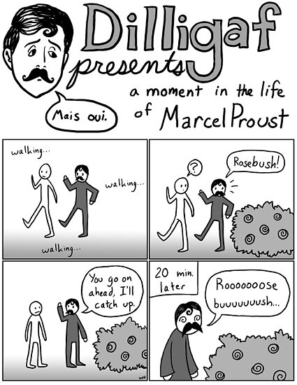 A Moment in the Life of Marcel Proust by AmbrMerlinus