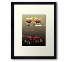 Minimalist Fear amd Loathing  Framed Print