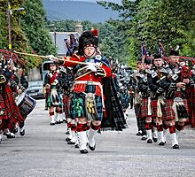Queens Royal Guards, Ballater Scotland by Simon Duckworth