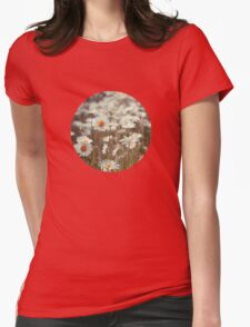Pushed up daisies Womens Fitted T-Shirt