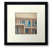 Beach Community Framed Print