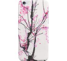 """Spring Half-Dreamed"" Cherry Tree or Crepe Myrtle Tree iPhone Case/Skin"