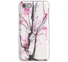 """Spring Half-Dreamed"" Cherry Tree or Crepe Myrtle Tree iPhone Case/Skin"