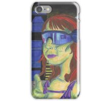 Blade Runner/ Sci-Fi Homage Self-Portrait iPhone Case/Skin